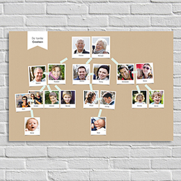 Poster Tirage Photo Familieboom