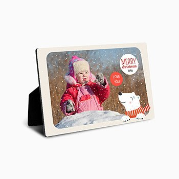 Fotolijsten - Christmas polar bear - 0