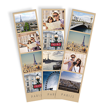 Paulux met foto Parijs