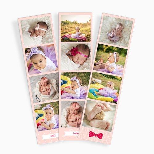 Magneetfoto's - roze baby 45368 thumb