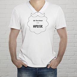 T-Shirt Kerst Hipster