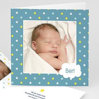 Geboortekaartje jongen - Sterren zien - 0