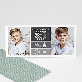 Uitnodiging communie jongen - Eerste communie planning - 0