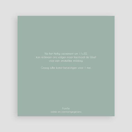 Doopkaartje jongen - Blauw 2x2 46974 thumb