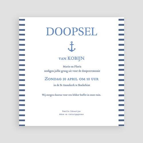 Doopkaartje jongen - Zeemandoop 46992 preview