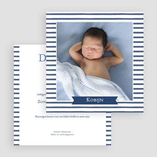 Doopkaartje jongen - Zeemandoop 46993 preview