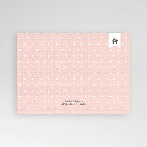 Doopkaartje meisje - Elegant en al roze 47031 thumb
