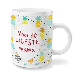 Gepersonaliseerde Fotomokken Moederdag - Mama zon - 0