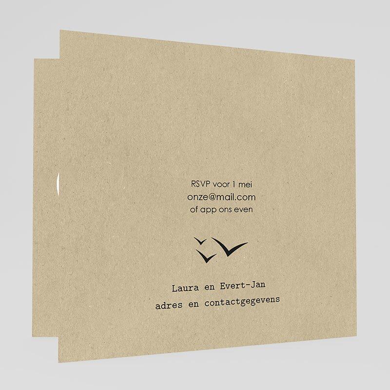 Trouwkaarten reizen - Paspoort naar geluk 47300 thumb