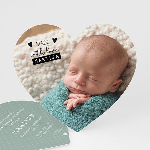 Geboortekaartje jongen - Maak 't zelf af 47381 thumb