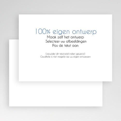 100% eigen ontwerp Geboortekaartjes - 16.7 cm x 12 cm 47391 preview