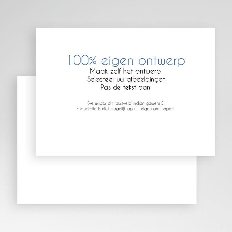 100% eigen ontwerp Geboortekaartjes 16.7 cm x 12 cm gratuit