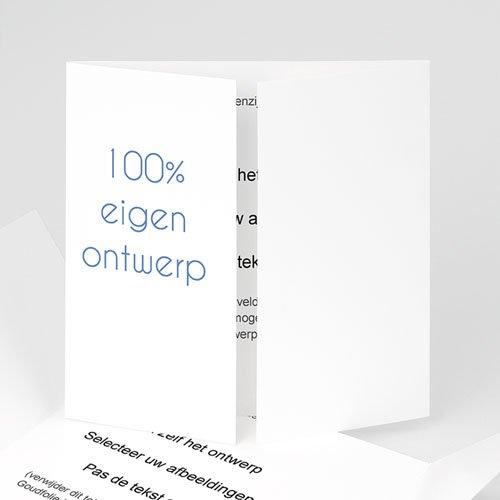 100% eigen ontwerp Geboortekaartjes - 15 cm x 14.5 cm 47459