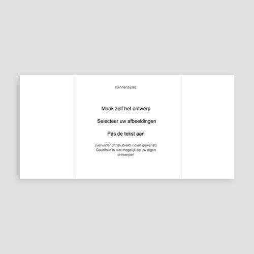 100% eigen ontwerp Geboortekaartjes - 15 cm x 14.5 cm 47460 preview