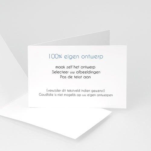 100% eigen ontwerp Geboortekaartjes - 10 cm x 15 cm 47495