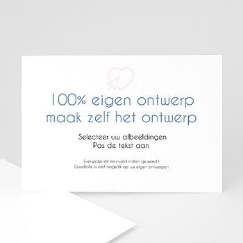 Trouwkaarten - 100% eigen ontwerp - 0