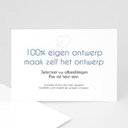 Aankondiging Huwelijk 100% eigen ontwerp