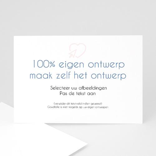 Trouwkaarten - 100% eigen ontwerp 47576