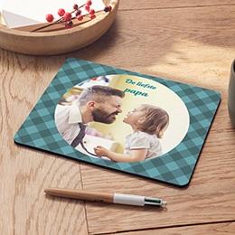 Muismat Vaderdag Op de mat bij pap