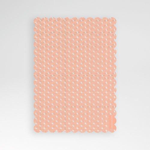 Doopkaartje meisje - Overgang roze 48028 thumb