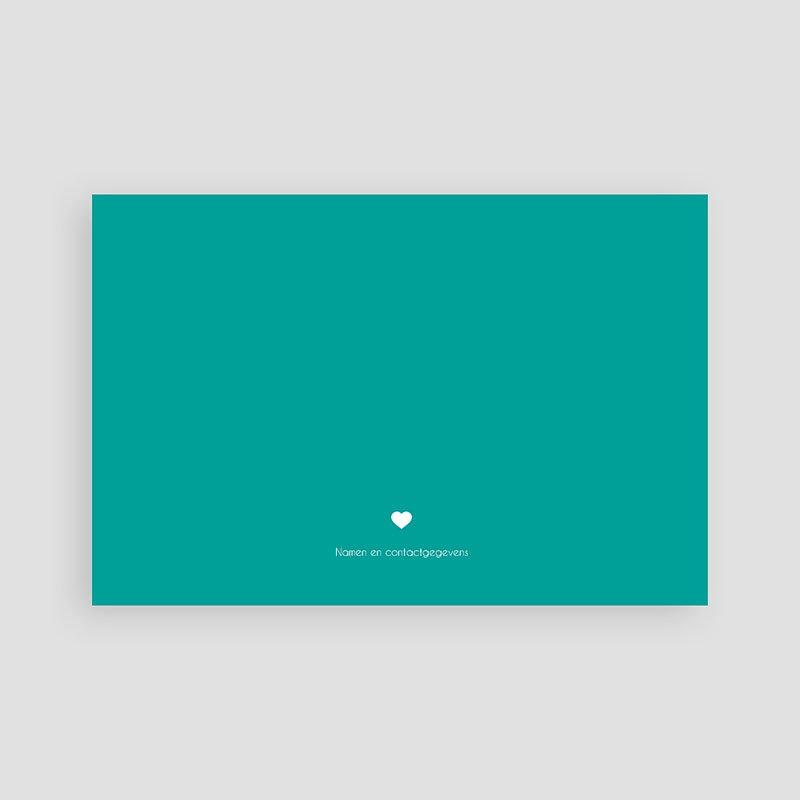 Bedankkaartje geboorte zoon - Modern talking 48167 thumb