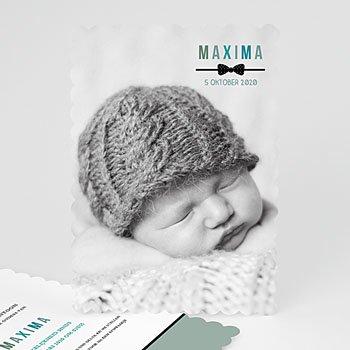 Geboortekaartje jongen - zoet en zacht - 0