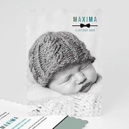 Aankondiging Geboorte zoet en zacht