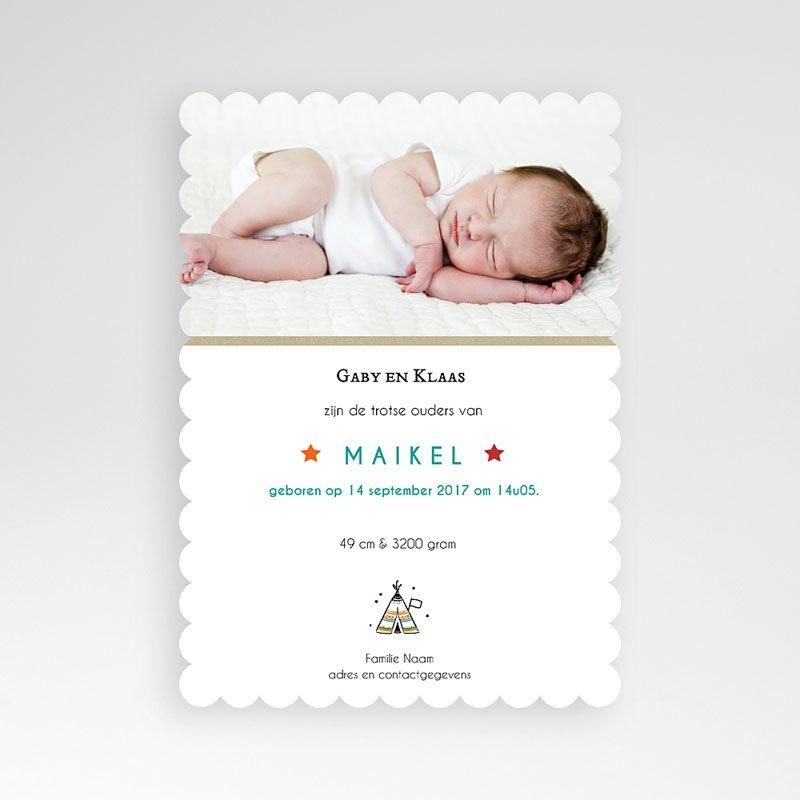 Creatieve geboortekaartjes - wigwam 48488 thumb