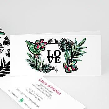 Personaliseerbare trouwkaarten - Natuur - 0