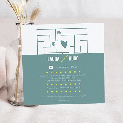 Personaliseerbare trouwkaarten - Geek gedoe 49783 thumb