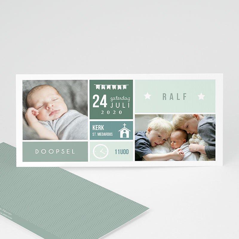 Doopkaartje jongen - Mint ingedeeld 49856 thumb