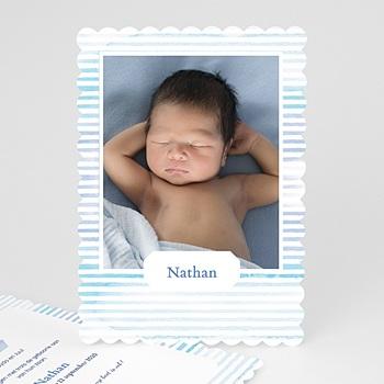 Geboortekaartje jongen - Kapteintje - 0