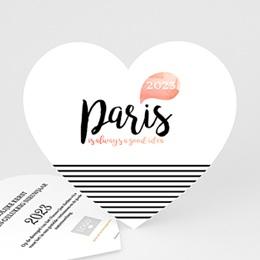 Professionele wenskaarten Nouvel An Parijs