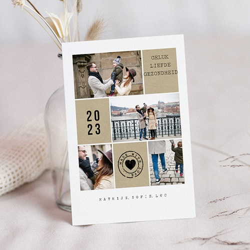 Kerstkaarten 2019 - Geluk, gezond 49973 thumb