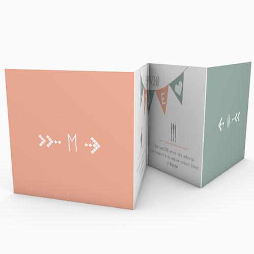 Personaliseerbare trouwkaarten - Electronic Love 50246 preview