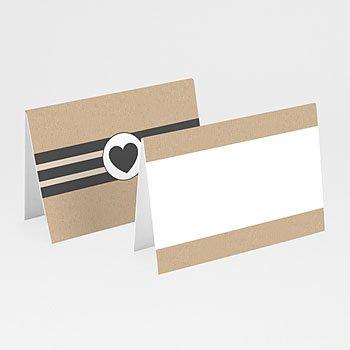 Tafelkaartjes huwelijk - scrapkaart - 0