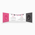 Personaliseerbare trouwkaarten - Doop en huwelijk 50586 thumb