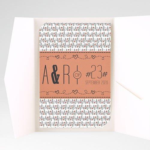 Rechthoekige trouwkaarten - Liberty 50718 thumb
