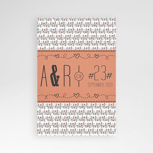 Rechthoekige trouwkaarten - Liberty 50720 thumb