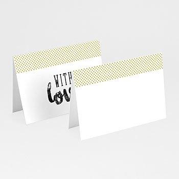 Tafelkaartjes huwelijk - Citroen 2CV - 0