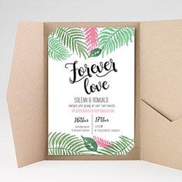 Aankondiging Huwelijk Botanical Varens