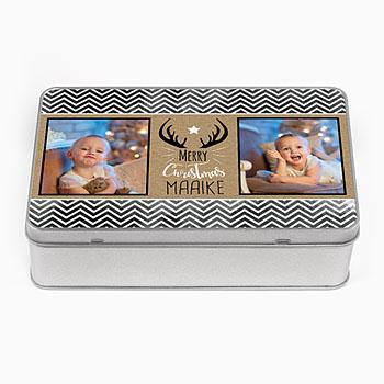 Personaliseerbare blikken doosjes - Geschenk - 0