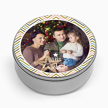 Personaliseerbare blikken doosjes - Advent - 0