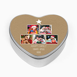 Personaliseerbare blikken doosjes - Happy Family - 0