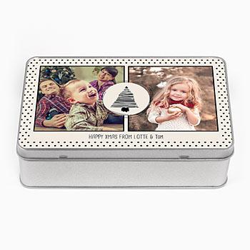 Personaliseerbare blikken doosjes - Fotokado - 0