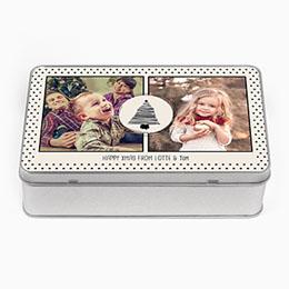 Personaliseerbare blikken doosjes Fotokado