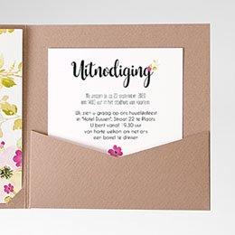 Cartes d'invitations Romance Watercolor