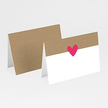 Tafelkaartjes huwelijk - Love Story - 0