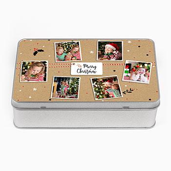 Personaliseerbare blikken doosjes Sweet box
