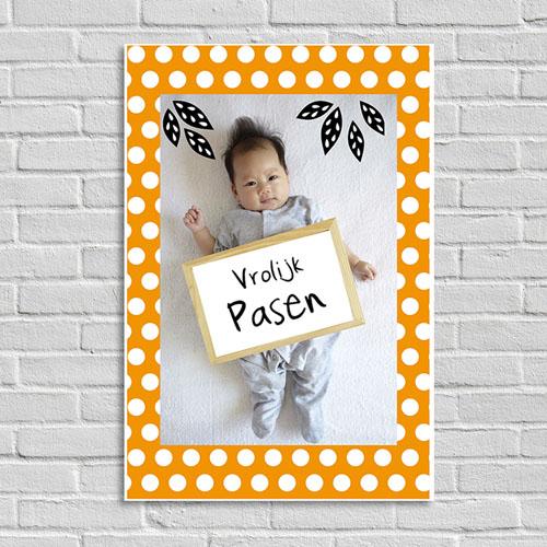 Fotoposter Vrolijk Pasen